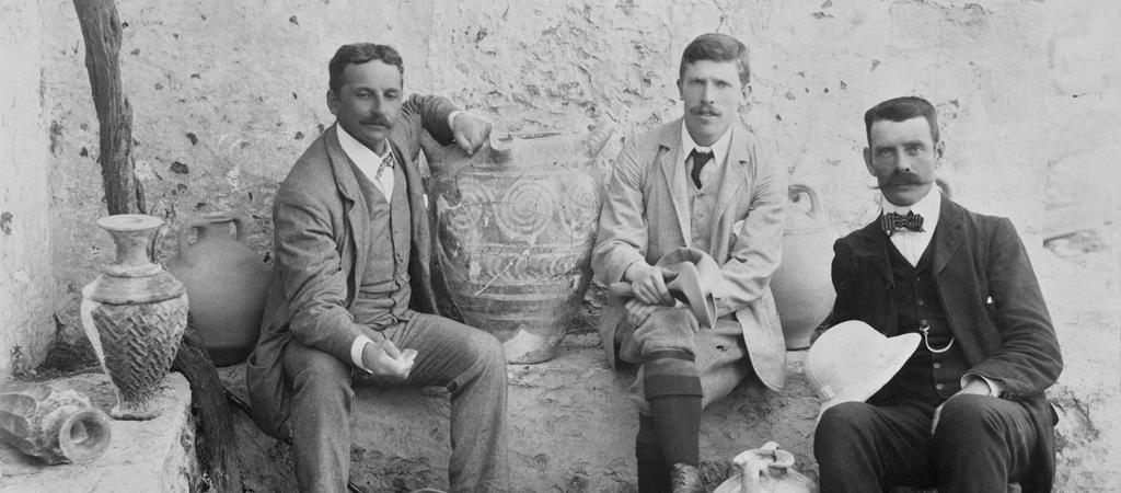 arthur-evans-knossos-excavation