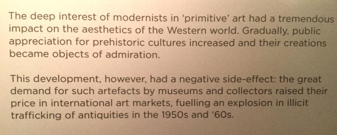 Cycladic art and modernism